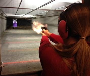 dies Burleson TX gun range