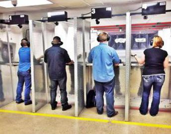 indoor gun range houston
